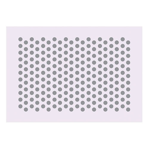 Martellato Cake Decorating Stencil Grill - Large Polka Dot