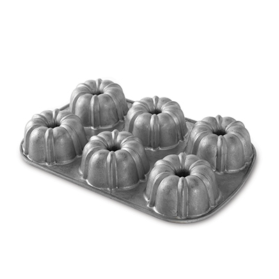 Nordicware Mini Bundt Cake Pan, Commercial Non-Stick