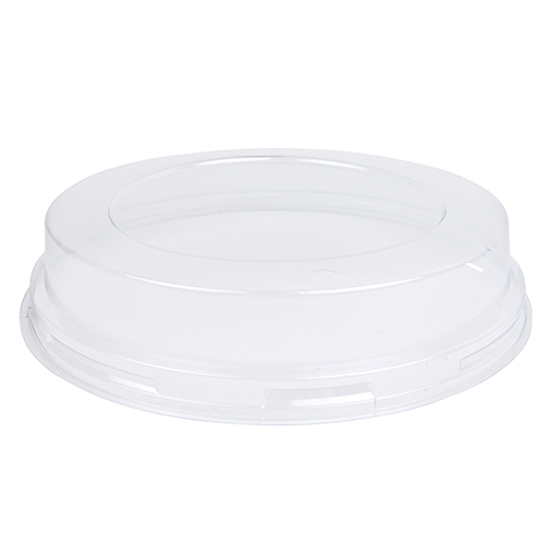 Novacart Clear Round Plastic Lid for Baking Mold OP180/35, Pack of 12