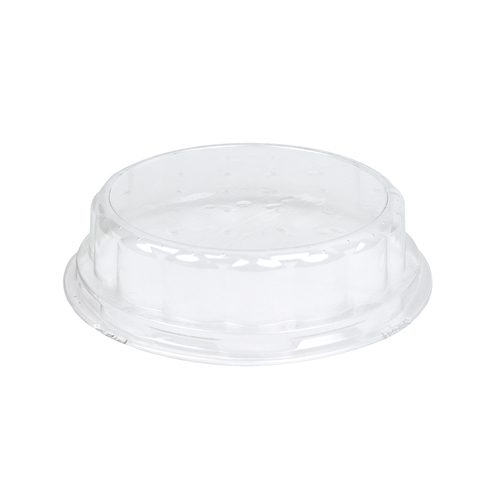 Novacart Clear Round Plastic Lid for Baking Molds OP110/21 and OP110/37, Case of 700