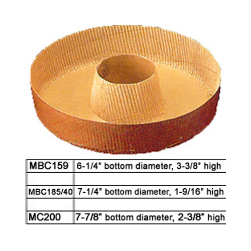 Novacart Round Disposable Paper Baking Tube Pan Disposable