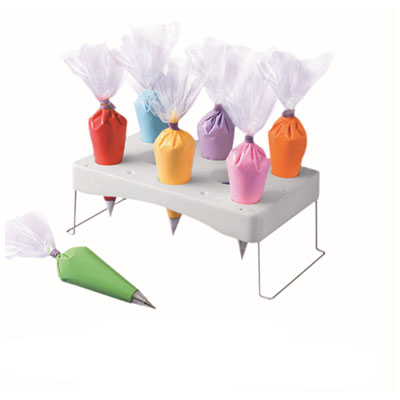 O Creme Cake Decorating Pastry Bag Support Holder and ...
