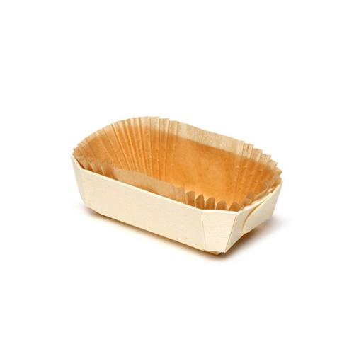 Panibois Bakeable Wooden Tom Pouce Baskets 4 X 2 3 8 X 1 3