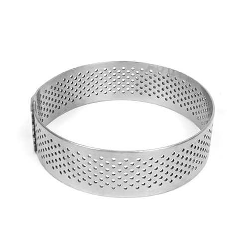 Pavoni Progetto Crostate Perforated Stainless Round Tart