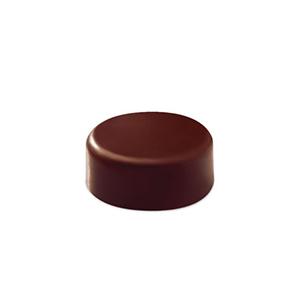 Pavoni Polycarbonate Chocolate Mold, Smooth Round 21 Cavities