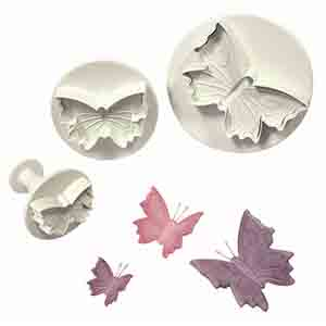 PME Butterfly Plunger Cutters - Pack of 3