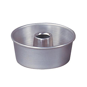 Round Tube Cake Pan 7 1 2 Top Inner Diameter X 3 High 1 1