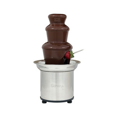 Sephra Fountains 16 Select Fondue Chocolate Fountain (Brushed Stainless Steel)