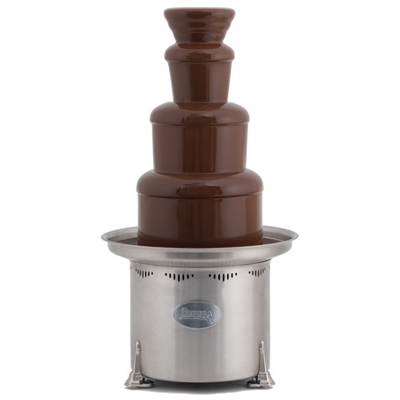 Sephra Montezuma Commercial Chocolate Fountain, 34 Brushed Stainless
