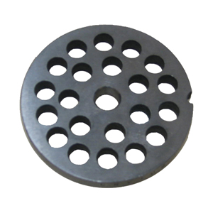 #22 Meat Chopper/Grinder Plate, 3/8 Holes