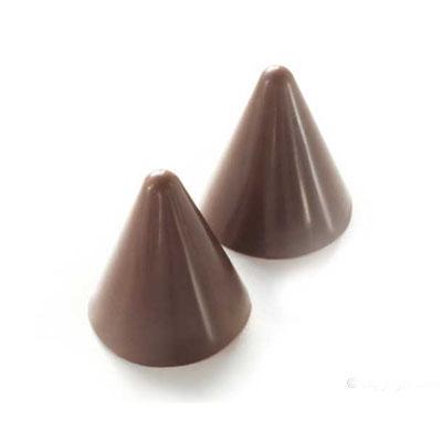 Silikomart Silicone Mold Cone 66 Cavities Multiple Cavity