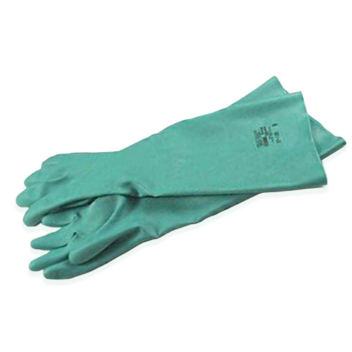 Sol-Vex Nitrile Gloves 18 Long, 1 Pair - Size 10