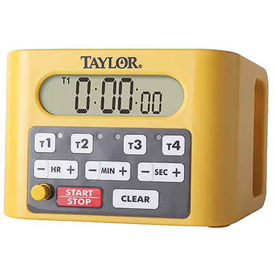 Attrayant Taylor 5839N Digital Event Commercial Kitchen Timer With Volume Control Knob