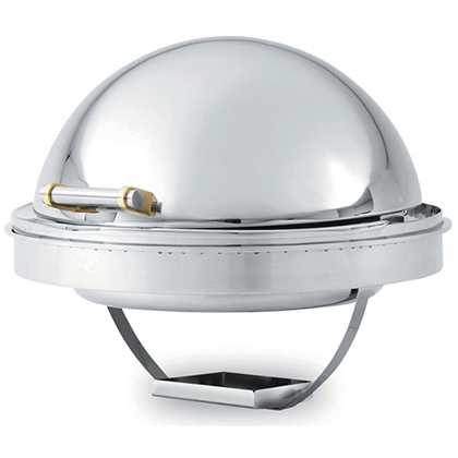 Vollrath Chafing Dish, 6Qt. Round with Dripless Water Pan and Dome Cover