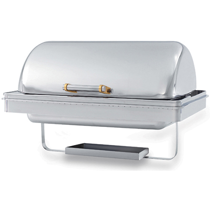 Vollrath Chafing Dish, 9Qt. Rectangular with Dripless Water Pan and Dome Cover