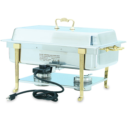 Vollrath Electric Chafing Dish, Long Side Receptacle