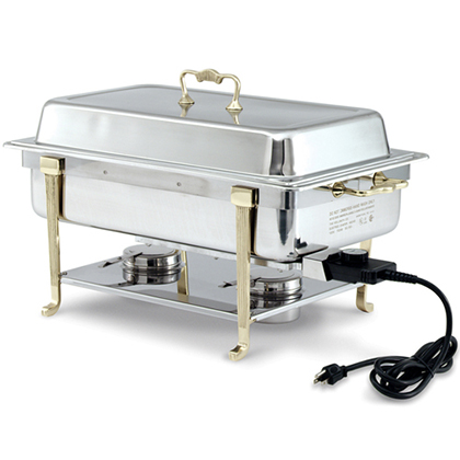Vollrath Electric Chafing Dish, Short Side Receptacle
