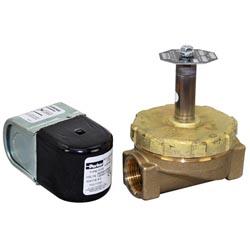 Water solenoid valve 3 4 fpt 120 240v steamer kettle parts