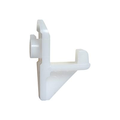 White Plastic Shelf Clip For Turbo Air Amp Beverage Air Oem