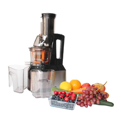 Anti Oxidative Slow Masticating Juicer : Wide Chute, Anti-Oxidation, Slow Masticating Juicer Juicers - BakeDeco.Com