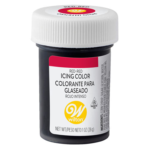Wilton Red-No Taste Icing Color 1 oz.