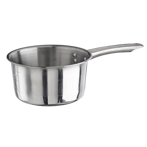 Winco Stainless Steel Sauce Pan, 2 Quart