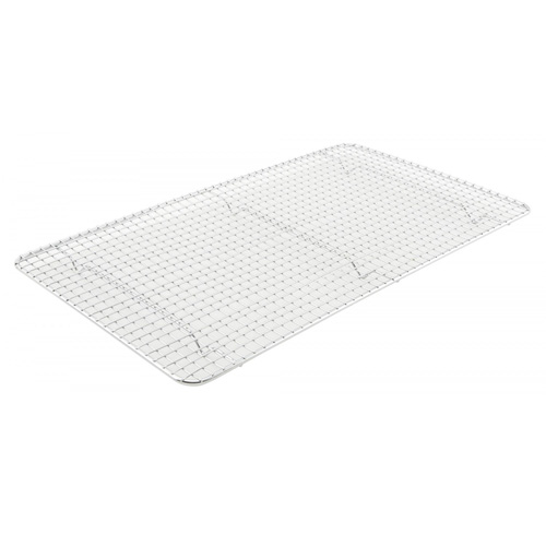 Winco Wire Pan Grate, Chrome Plated, 10 x 18 (for 1/1 Steam Pans)