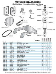 Equipment & Parts Parts & Attachments Hobart Mixer Parts ... on hobart dishwasher schematics, hobart dishwasher electrical wiring, hobart c44a wiring schematic, hobart parts,