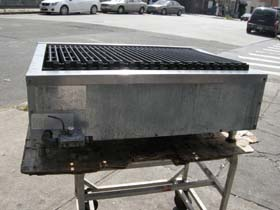 Imperial Gas Charbroiler Model Irb 36 Used Very Good