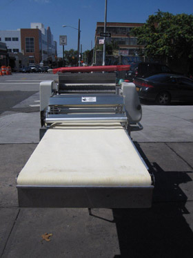 Rondo Automatic Dough Sheeter Amp Cutting Station Used Model