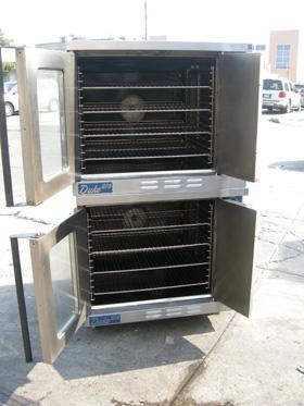 Duke Convection Oven Gas Model 613 2 Speed Full Size