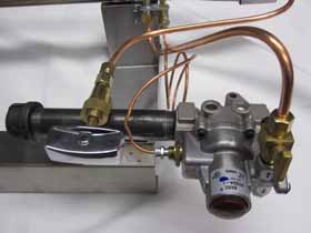 Universal Coolers Mea Natural Gas Burner With Safety