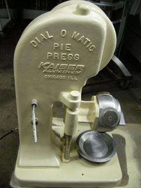 manual pie press machine