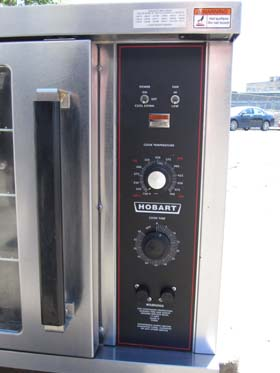 Hobart Half Size Electric Convection Convection Oven Model
