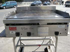 Lang Gas Counter Top Griddle Model G36 Used Condition