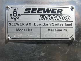 Rondo Seewer Reversible Dough Sheeter Table Top Used