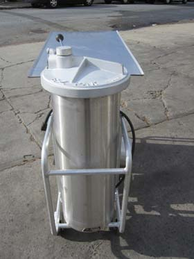Zuber E Z Pack 100 Lb Sausage Stuffer Used Excellent Condition Used Equipment We Have Sold