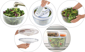 zyliss salad spinner instructions