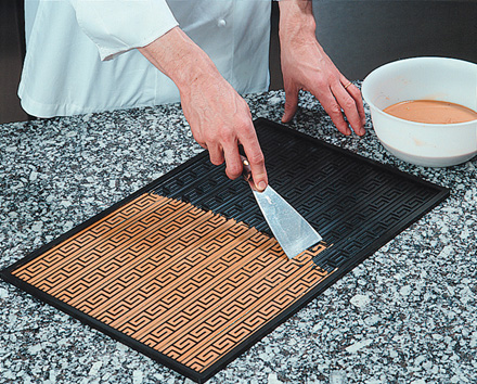 Demarle 3 D Silicone Non Stick Baking Mat Relief Mat 15