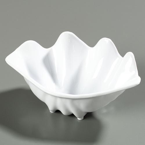 "Carlisle 339 Small Shell (12.6 oz, 8-7/8"" x 5-1/2"") - White 33902"