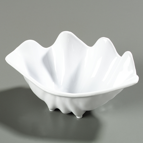 "Carlisle 0340 Medium Shell (22.1 oz, 11"" x 6-15/16"") - White 34002"