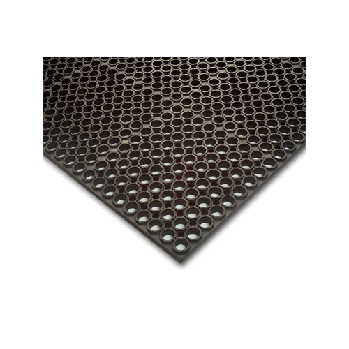 Teknor-Apex Antifatigue Floor Mat 3 Feet x 5 Feet - Black (Regular) 065-340