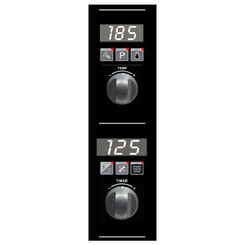 Moffat E32D5 Control Panel