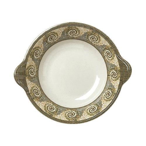 Melamine Bowl, Mosaic Pattern, 1 CASE