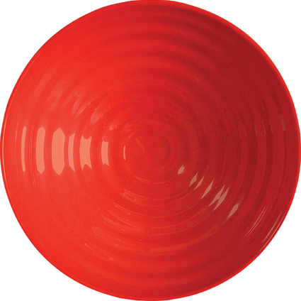 Melamine Bowl, Red Sensation Series, Sold as a Case of 12