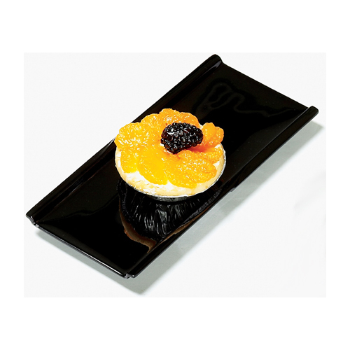 Melamine Plate Black Elegance Series, 9.25