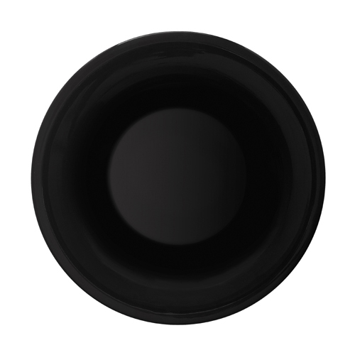 Melamine Bowl, Black Elegance Series, 13 oz 9.25