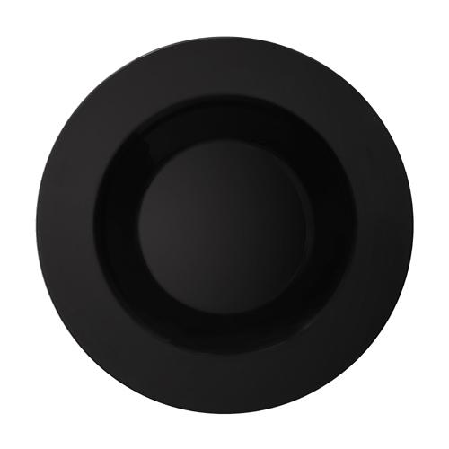 Melamine Bowl, Black Elegance Series