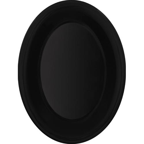Melamine Platter, Oval, Black Elegance Series