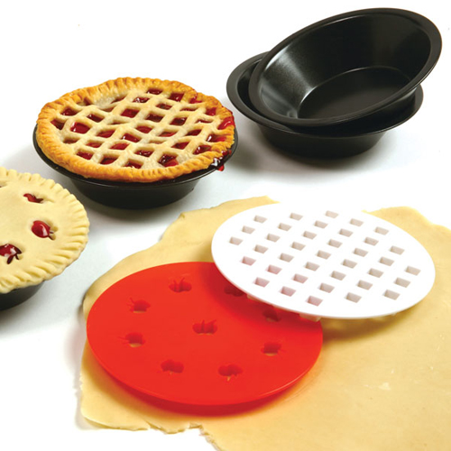 Norpro Mini Pie Pans with Top Cutters